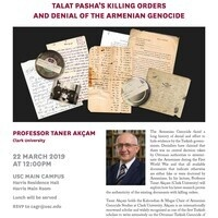 Talat Pasha's Killing Orders and Denial of the Armenian Genocide (USC CAGR, USC IAS)