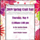 Spring 2019 Craft Fair