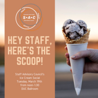 Staff Advisory Council Ice Cream Social