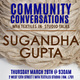 Community Conversations: MFA Textiles In-Studio Talks with Sugandha Gupta