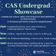 CAS Undergraduate Showcase