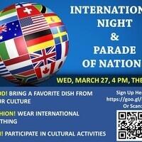 International Night & Parade of Nations