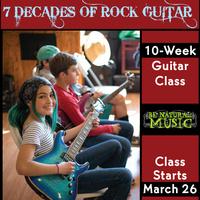 Seven Decades of Rock Guitar - 10 Week Class