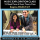 10-Week Music Exploration Class