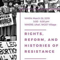 Rights, Reform, and Histories of Resistance