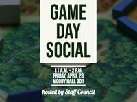 Staff Council Game Day Social