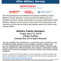 Your Brain on the Military: Understanding Psychological Changes After Military Service Military Family Members