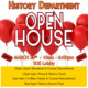 History Department Open House!
