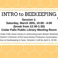 Intro to Beekeeping, Session 1