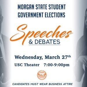 SGA Elections Speeches & Debates
