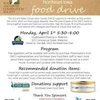 Northeast Iowa SWCS Food Drive & Social Event