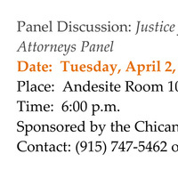 """Panel Discussion: """"Justice for Workers: Labor and Employment Attorneys Panel"""""""