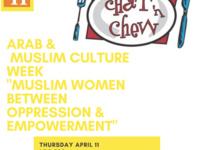 Arab & Muslim Culture Week, Chat & Chew