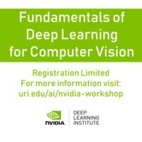 NVIDIA Workshop: Fundamentals of Deep Learning for Computer Vision