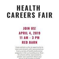 Alpha Epsilon Delta's Health Careers Fair