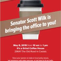 Senator Scott Wilk holds Mobile Office Hours in Castaic