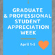 Graduate & Professional Student Appreciation Week: Swag Giveaway