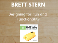 Brett Stern: Designing for Fun and Functionality