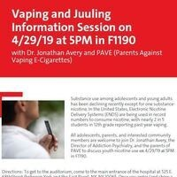 Vaping and Juuling Information Session