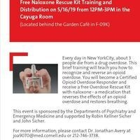 Free Naloxone Rescue Kit Training and Distribution