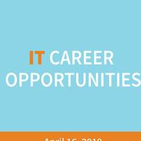 IT Career Opportunities