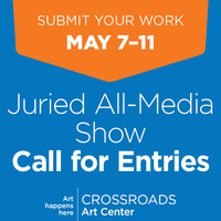 Call for Entries – May Juried All-Media Show