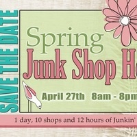 Spring Junk Shop Hop