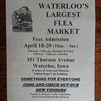 Waterloo's Largest Flea Market