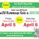 2-Day New2U Rummage Sale & Eco Expo