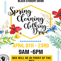 BSU's Spring Cleaning Drive