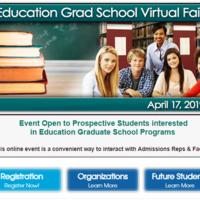 Education Grad School Virtual Fair