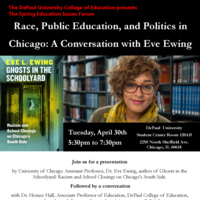 Race, Public Education, Politics in Chicago: A Conversation with Dr. Eve Ewing