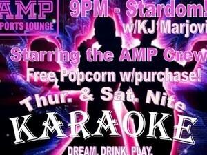 AMP'd Up Karaoke w/KJ MarJovi