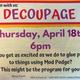 Art Party: Decoupage