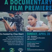 2019 DePaul/CHA Doc Film Premiere with Co-host Chaz Ebert