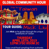 Global Community Hour: Trip to Taiwan