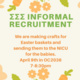 Sigma Sigma Sigma Informal Recruitment