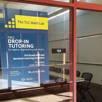 Drop-In Math Tutoring