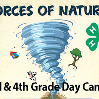 Forces of Nature 4-H Day Camp for 3rd and 4th Graders