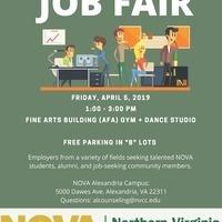 Alexandria Campus Job Fair