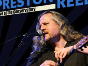 Preston Reed at the Conservatory