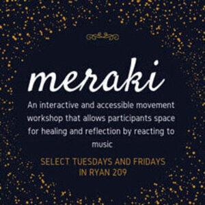 Meraki - Reflective Dance Workshops