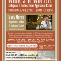 What's it Worth? Antiques & Collectibles Appraisal Event