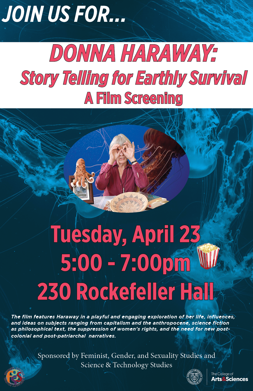 Donna Haraway: Story Telling for Earthly Survival, A Film Screening
