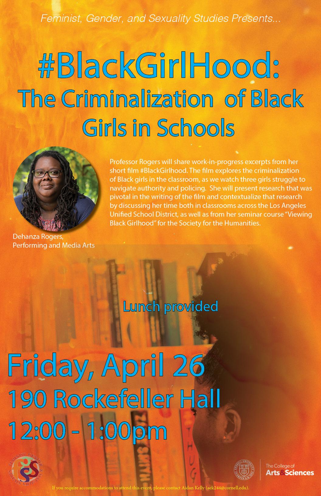 #BlackGirlhood: The Criminalization of Black Girls in Schools