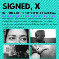 Signed, X Photo Display