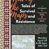Weaving the Maps: Tales of Survival and Resistance