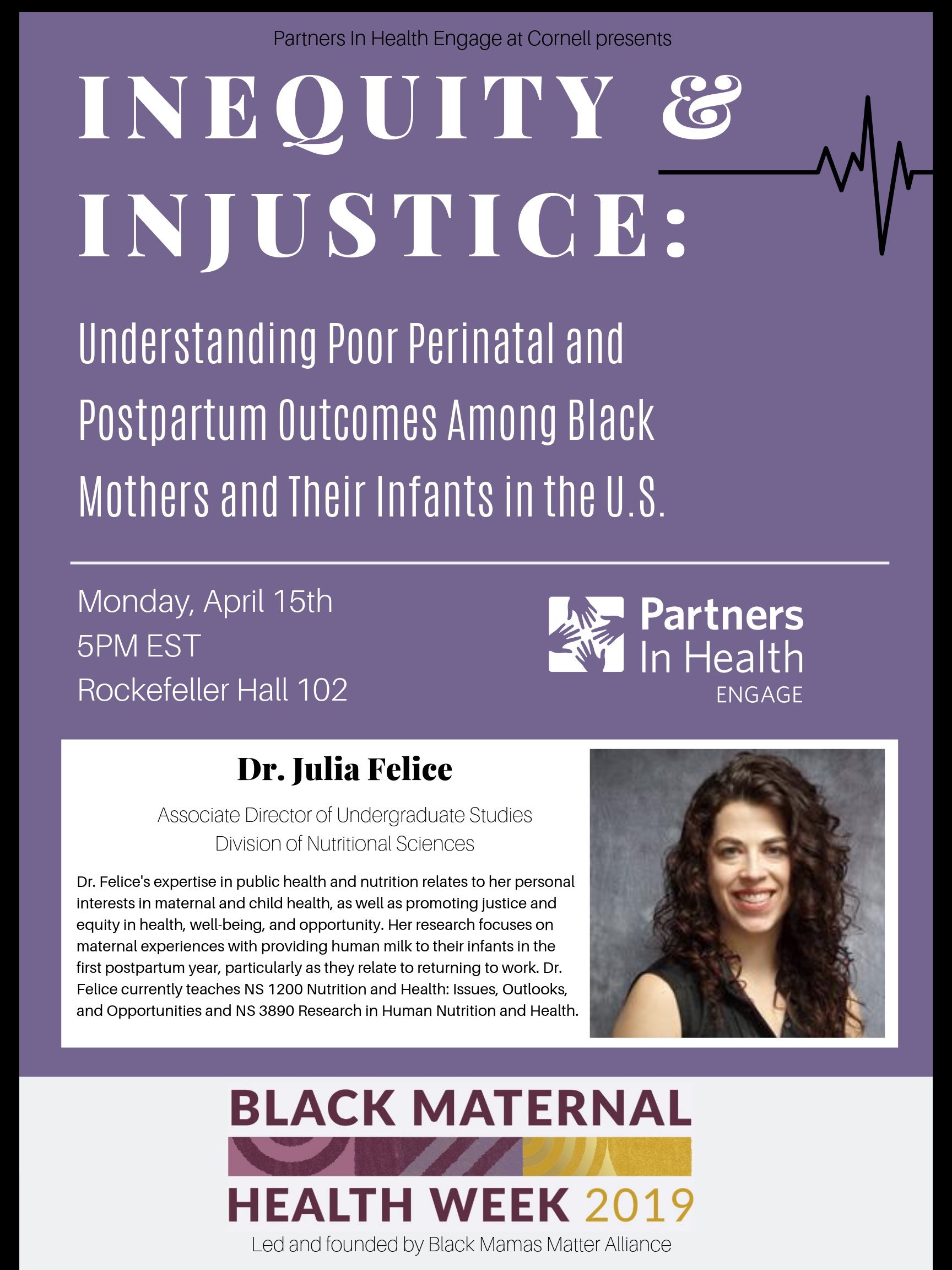 Inequity & Injustice: Understanding Poor Perinatal and Postpartum Outcomes Among Black Mothers and Their Infants in the U.S.