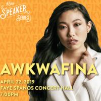 ASuop Speaker Series Presents: Awkwafina