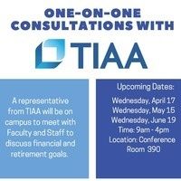 One-on-One Consultation with TIAA